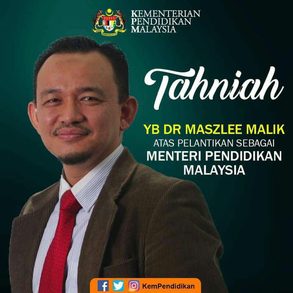 Siapa Dr Maszlee Malik Menteri Pelajaran Malaysia Sarawakvoice Com