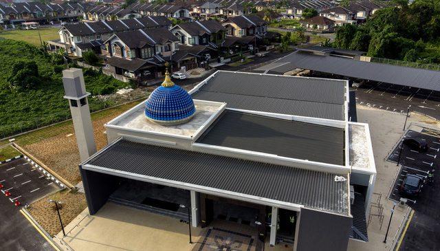 Pembukaan Masjid Al Ghazali di Petrajaya untuk mengingati Tambi Jiee sekeluarga - Sarawakvoice.com